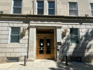 Where I work: United Methodist Building, Washington DC.