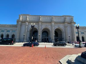 My train commute: Union Station, Washington DC