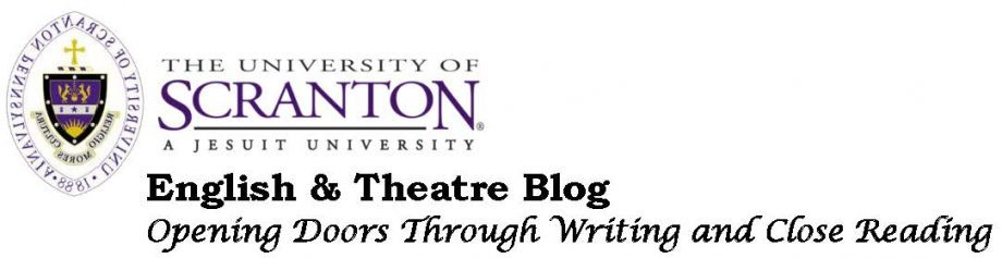 Department of English and Theatre Blog