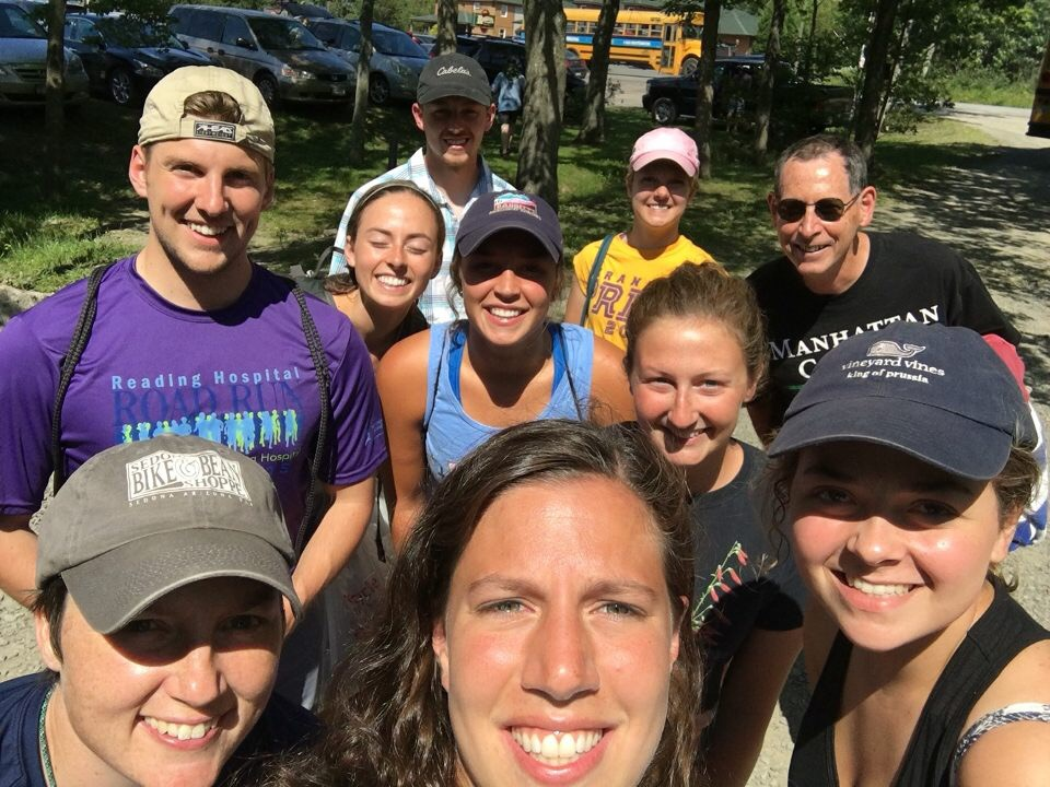 "A ""classic"" selfie after whitewater rafting with EP 2015 (Arizona) alumni"