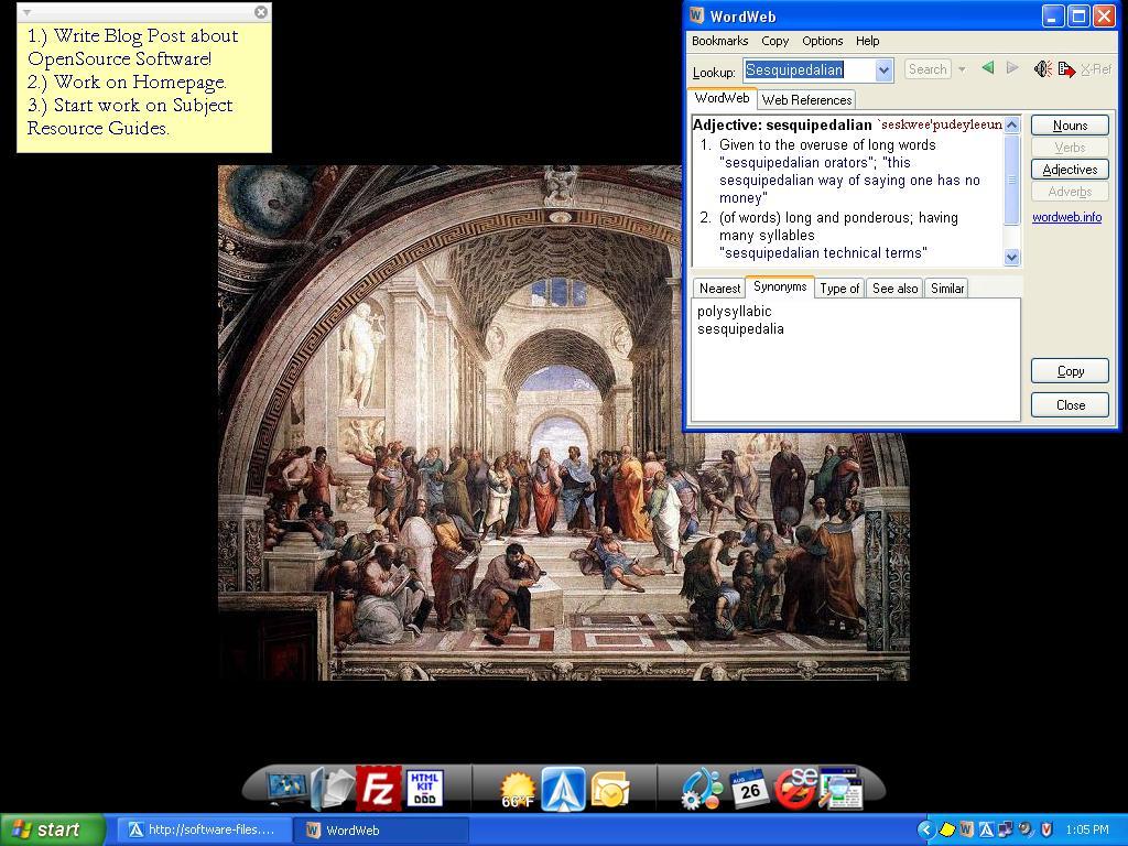 GJA's Desktop