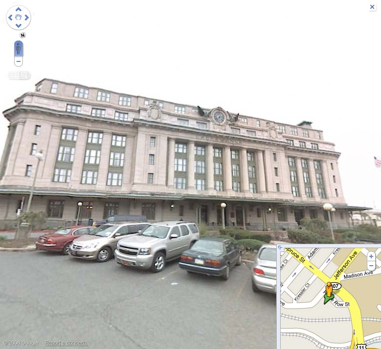 The Radisson, as seen on Google Street View