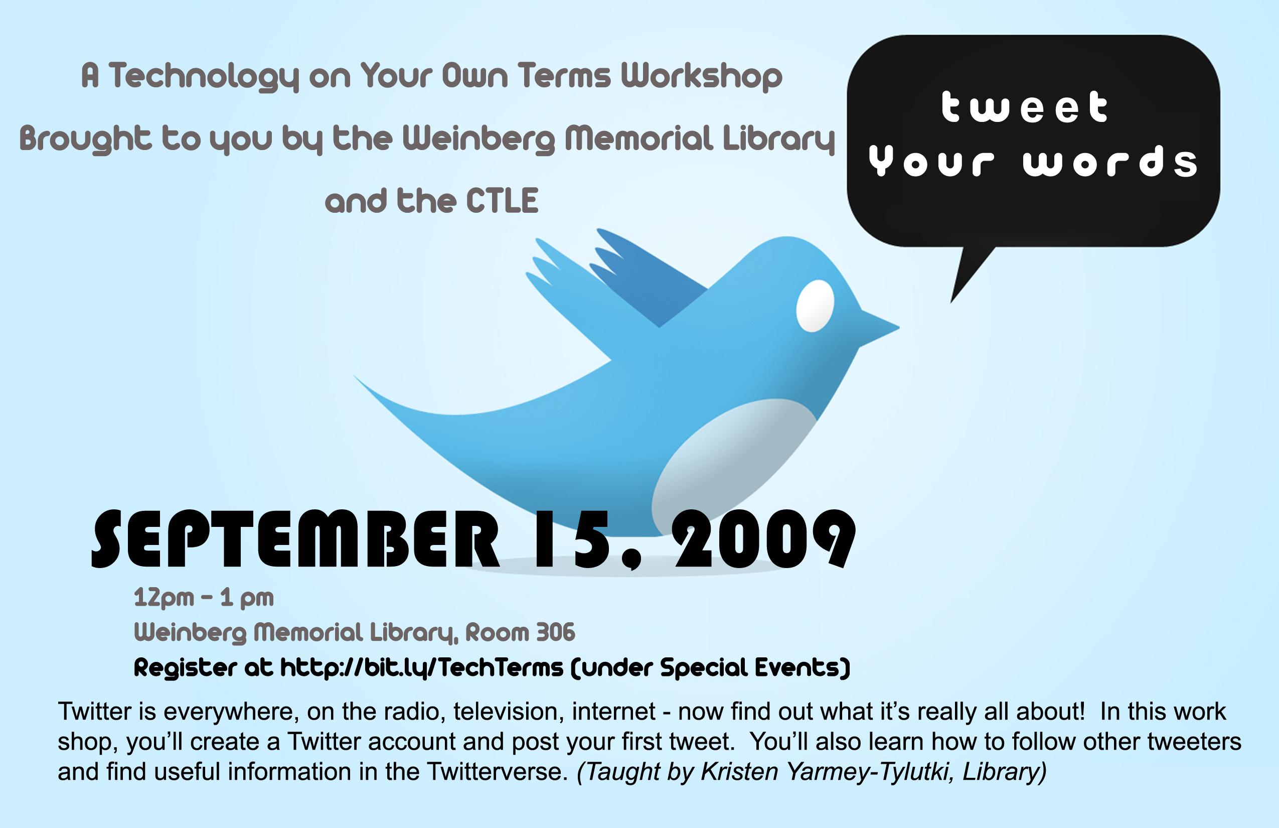 TweetYourWords
