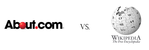About.com vs. Wikipedia