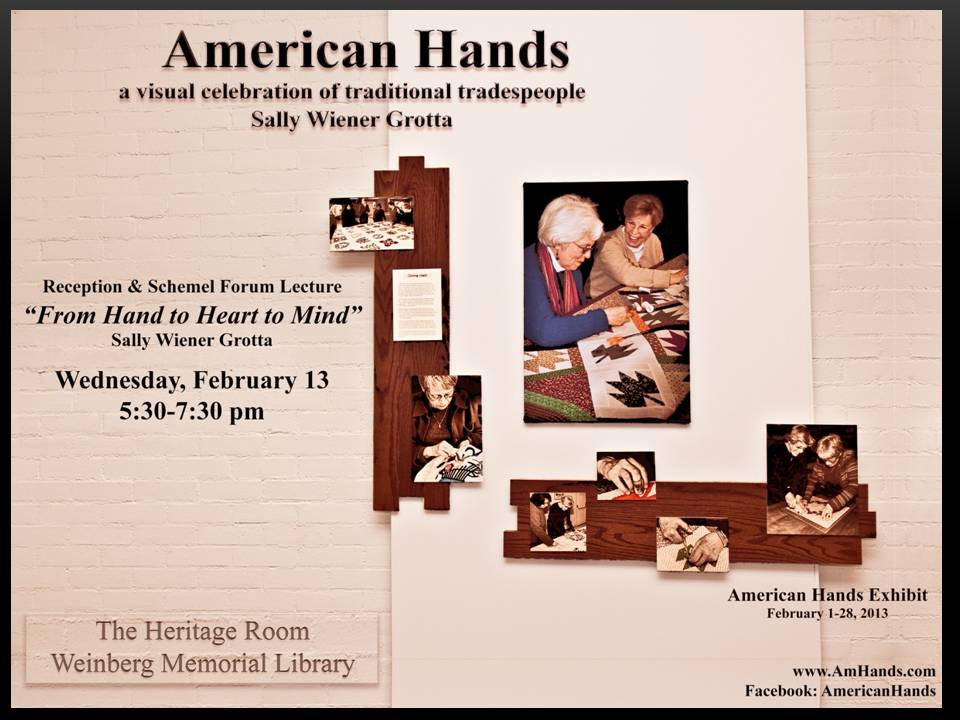 American Hands Exhibit