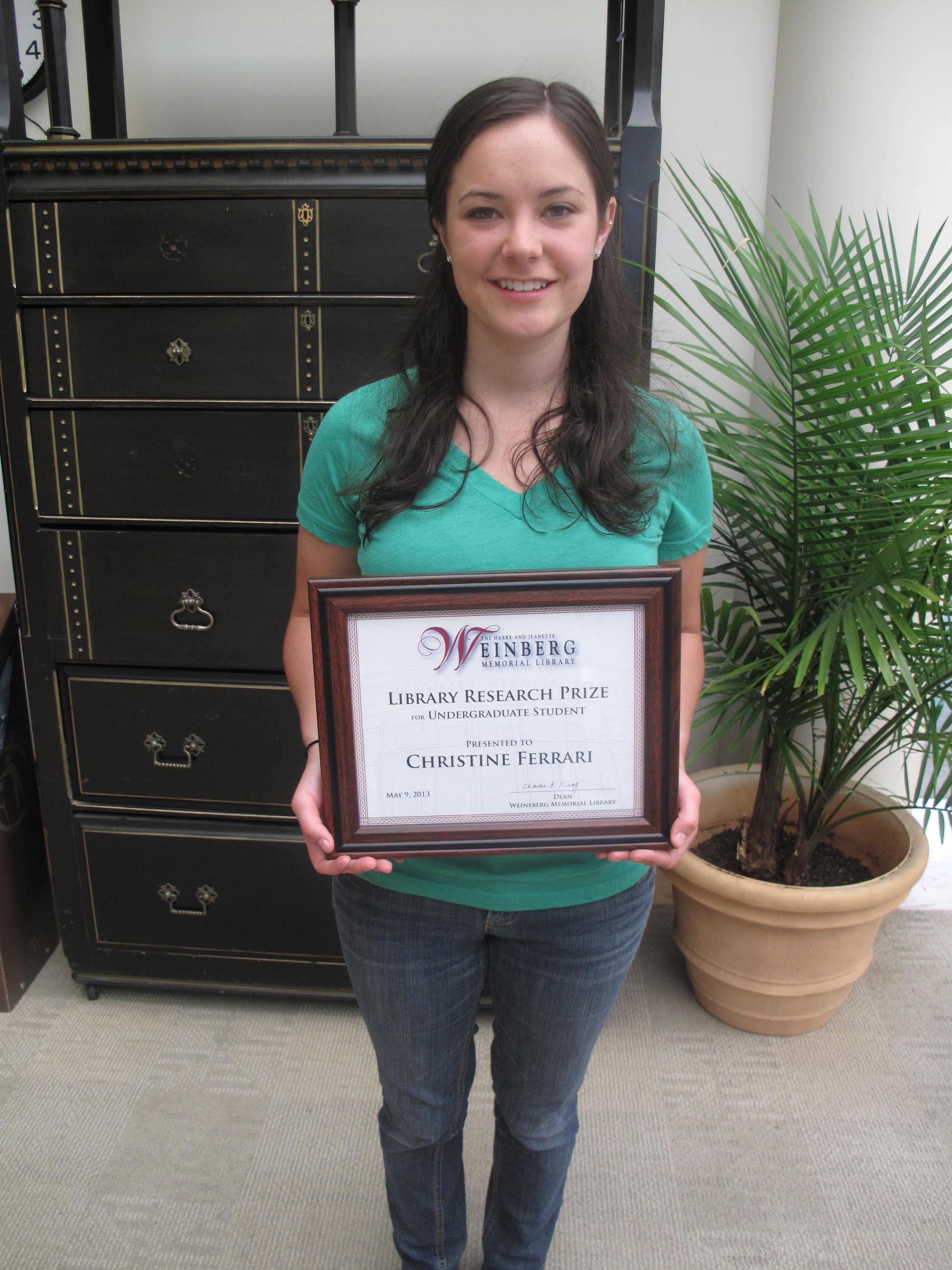 Undergraduate Winner