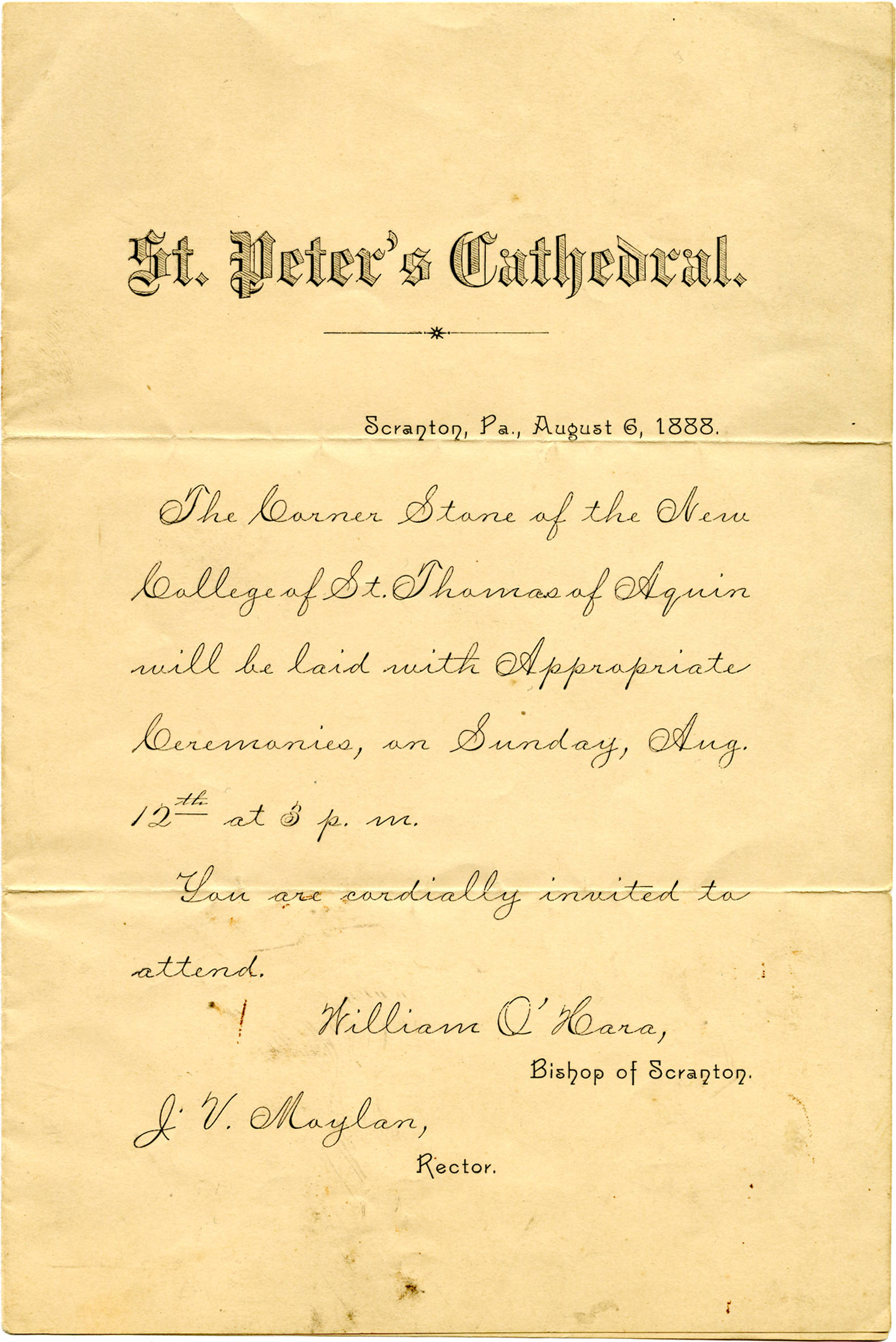 Invitation_to_the_Cornerstone_Blessing_1888