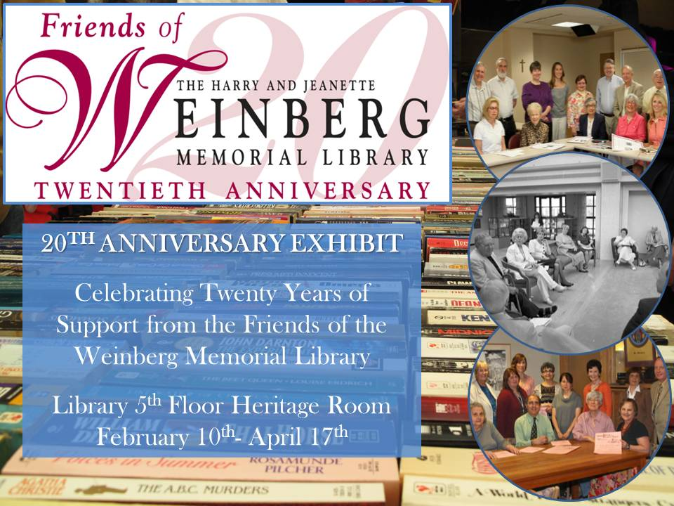 Friends of the Library 20th Anniversary