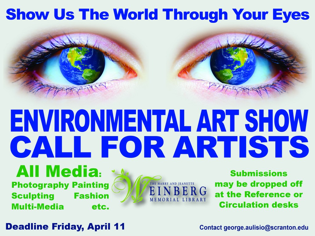 art show eye ad