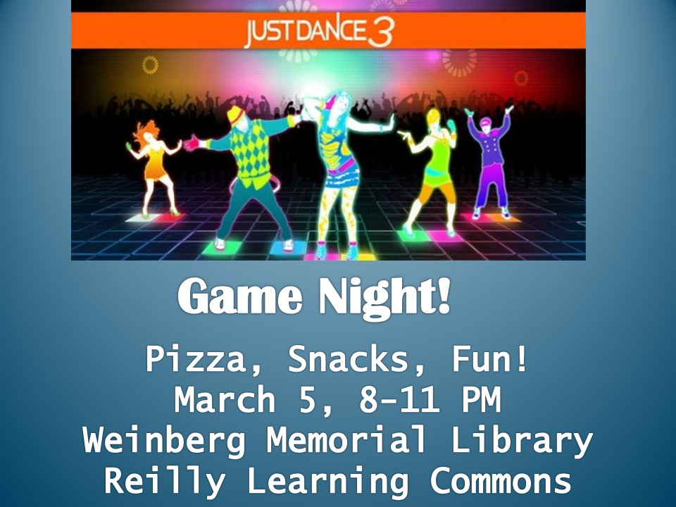 Game Night March 2015