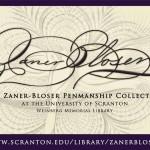 Zaner-Bloser Collection logo and digital signage