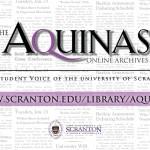 Aquinas Collection digital signage