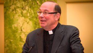 A photograph of Rev. Scott R. Pilarz, S.J., President of The University of Scranton