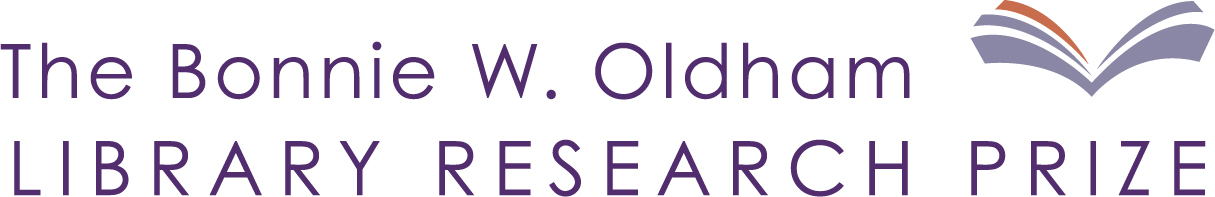 The Bonnie W. Oldham Library Research Prize